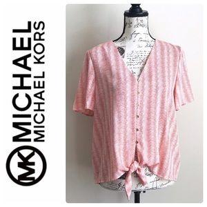 Michael Kors Button Top